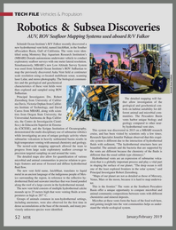 Marine Technology Magazine, page 52,  Jan 2019