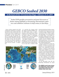 Marine Technology Magazine, page 56,  Jan 2019