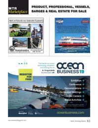 Marine Technology Magazine, page 63,  Jan 2019