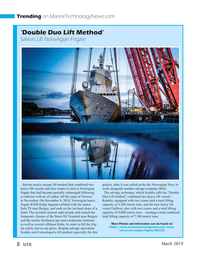 Marine Technology Magazine, page 8,  Mar 2019