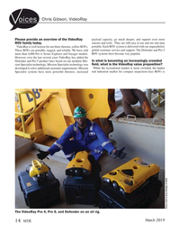 Marine Technology Magazine, page 14,  Mar 2019