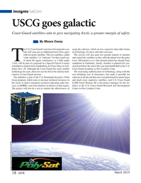 Marine Technology Magazine, page 18,  Mar 2019