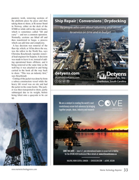 Marine Technology Magazine, page 33,  Mar 2019