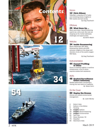 Marine Technology Magazine, page 2,  Mar 2019