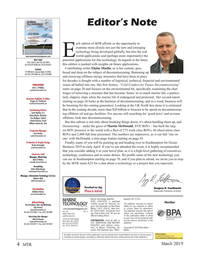 Marine Technology Magazine, page 4,  Mar 2019