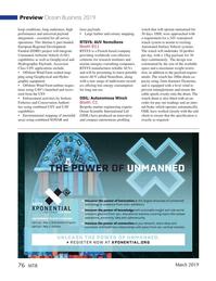 Marine Technology Magazine, page 76,  Mar 2019