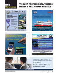 Marine Technology Magazine, page 79,  Mar 2019