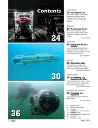 Marine Technology Magazine, page 2,  Apr 2019