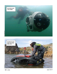 Marine Technology Magazine, page 40,  Apr 2019
