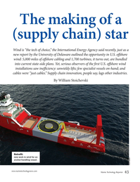 Marine Technology Magazine, page 43,  Apr 2019