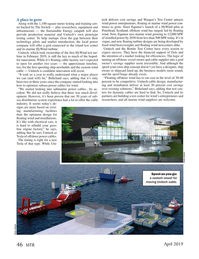 Marine Technology Magazine, page 46,  Apr 2019