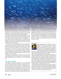 Marine Technology Magazine, page 54,  Apr 2019