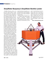 Marine Technology Magazine, page 60,  Apr 2019
