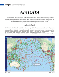 Marine Technology Magazine, page 10,  May 2019