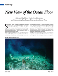 Marine Technology Magazine, page 14,  May 2019