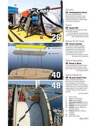 Marine Technology Magazine, page 2,  May 2019