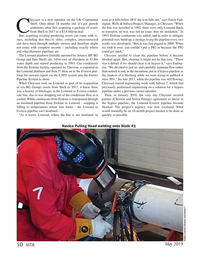 Marine Technology Magazine, page 50,  May 2019