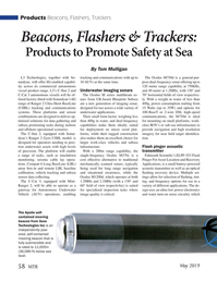 Marine Technology Magazine, page 58,  May 2019