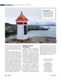 Marine Technology Magazine, page 60,  May 2019