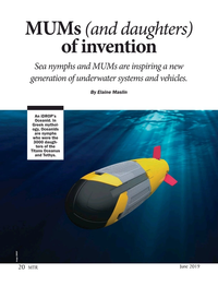 Marine Technology Magazine, page 20,  Jun 2019