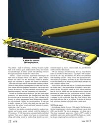 Marine Technology Magazine, page 22,  Jun 2019