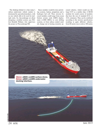 Marine Technology Magazine, page 24,  Jun 2019