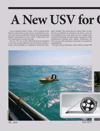 Marine Technology Magazine, page 26,  Jun 2019