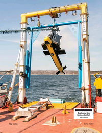 Marine Technology Magazine, page 28,  Jun 2019