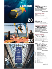 Marine Technology Magazine, page 2,  Jun 2019