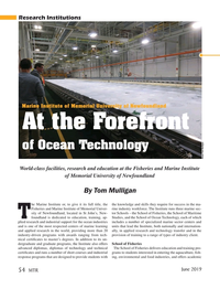 Marine Technology Magazine, page 54,  Jun 2019