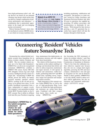 Marine Technology Magazine, page 59,  Jun 2019