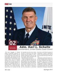 Marine Technology Magazine, page 10,  Jul 2019