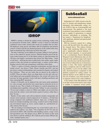 Marine Technology Magazine, page 26,  Jul 2019