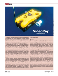Marine Technology Magazine, page 40,  Jul 2019