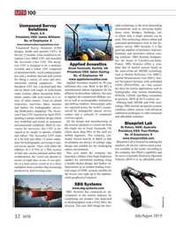 Marine Technology Magazine, page 52,  Jul 2019