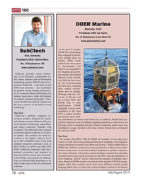 Marine Technology Magazine, page 76,  Jul 2019