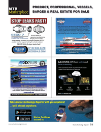 Marine Technology Magazine, page 79,  Jul 2019