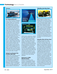 Marine Technology Magazine, page 8,  Sep 2019