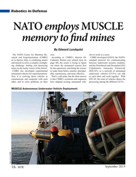 Marine Technology Magazine, page 16,  Sep 2019