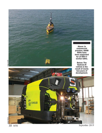 Marine Technology Magazine, page 30,  Sep 2019