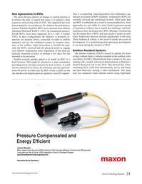 Marine Technology Magazine, page 31,  Sep 2019