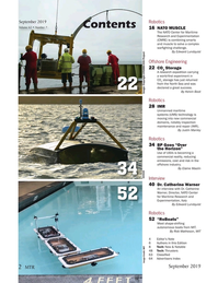 Marine Technology Magazine, page 2,  Sep 2019