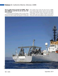 Marine Technology Magazine, page 42,  Sep 2019