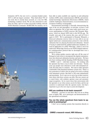 Marine Technology Magazine, page 43,  Sep 2019