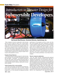 Marine Technology Magazine, page 48,  Sep 2019