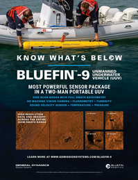 Marine Technology Magazine, page 4th Cover,  Sep 2019