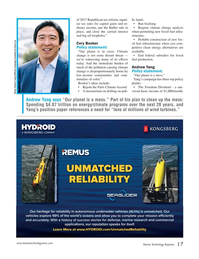 Marine Technology Magazine, page 17,  Oct 2019