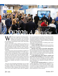 Marine Technology Magazine, page 20,  Oct 2019