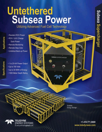Marine Technology Magazine, page 1,  Oct 2019