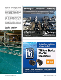 Marine Technology Magazine, page 31,  Oct 2019